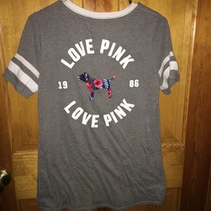 PINK by Victoria's Secret v-neck t-shirt